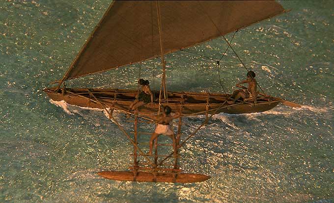 Bildergebnis für l ausleger boote mikronesien