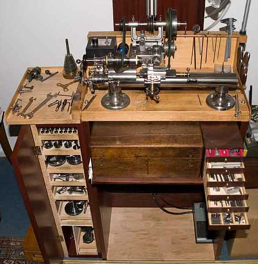 Ww lathe Watchmakers bench